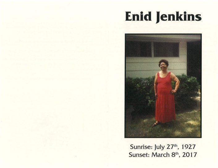Enid Jenkins Obituary