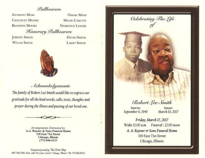 Robert Lee Smith Obituary