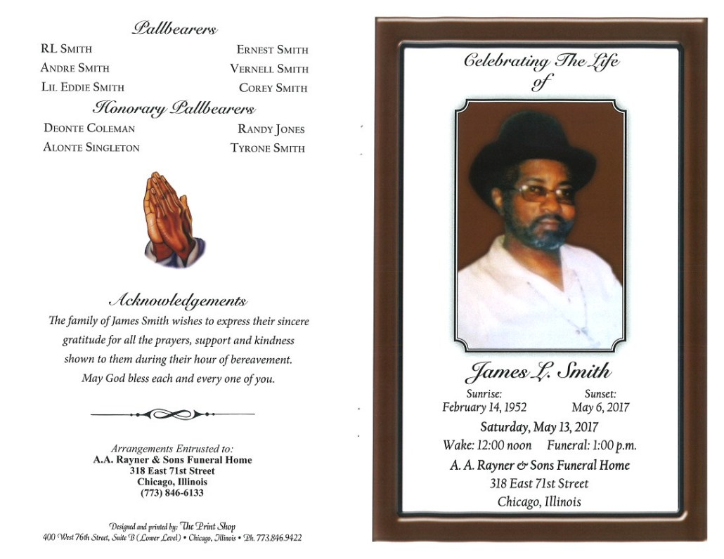James L Smith Obituary