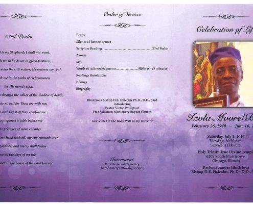 Izola Moorel Ball Obituary