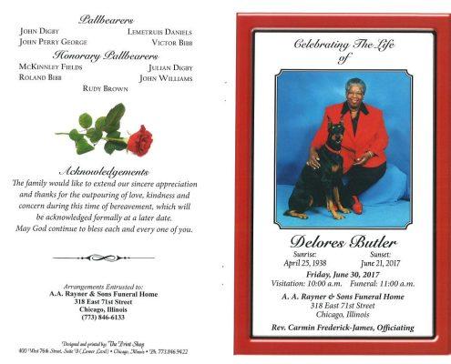 Delores Butler Obituary