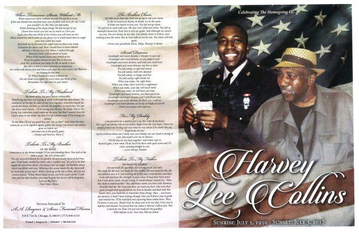 Harvey Lee Collins Obituary