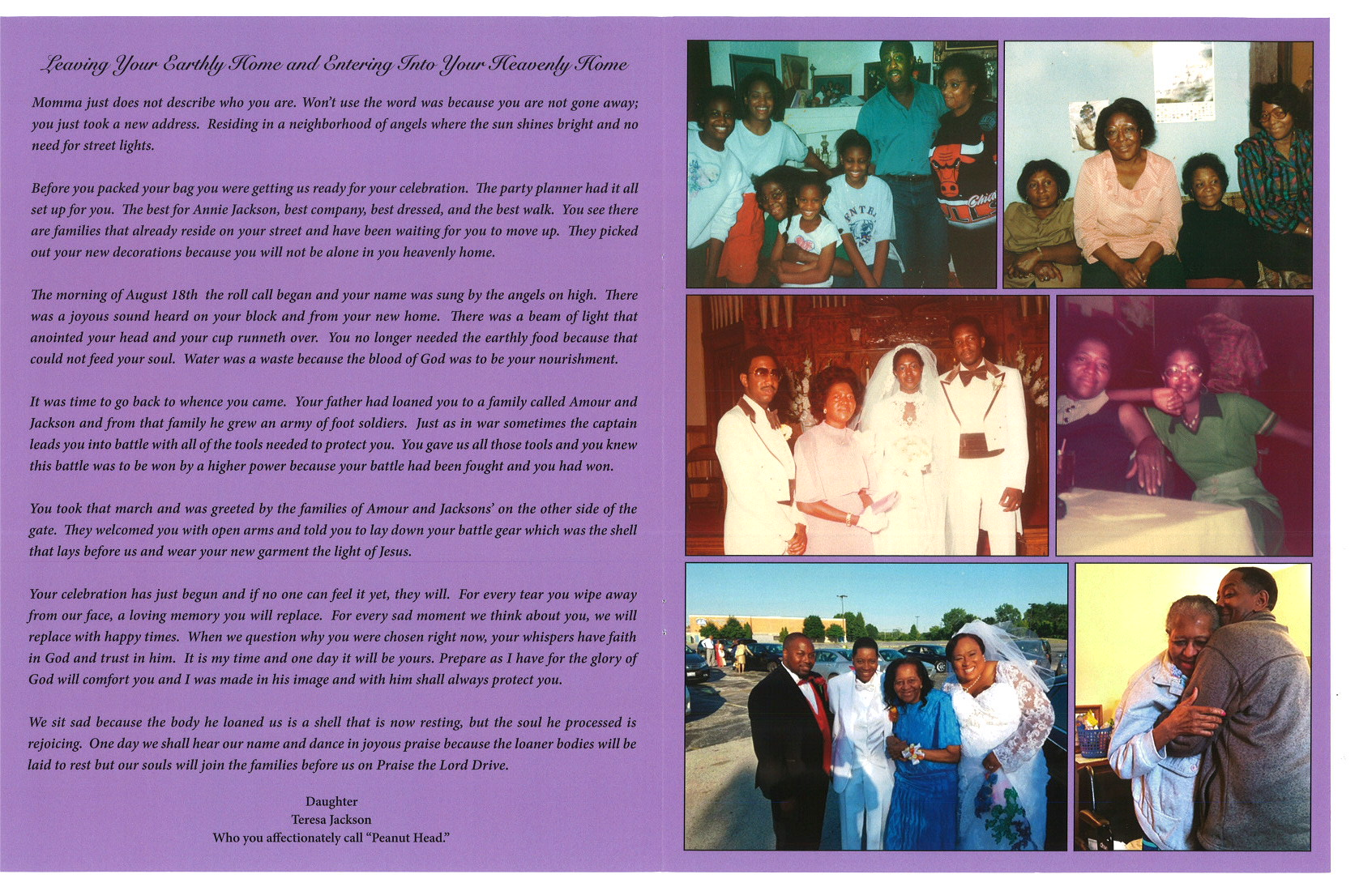 Annie A Jackson Rn Obituary Aa Rayner And Sons Funeral Home