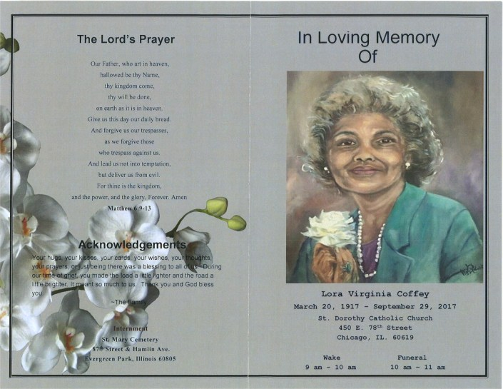 Lora Virginia Coffey Obituary
