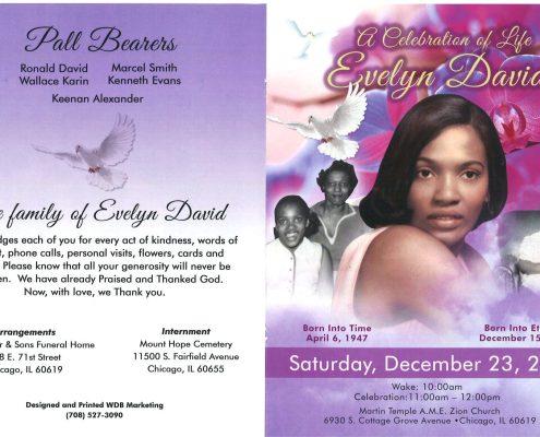 Evelyn Davis Obituary