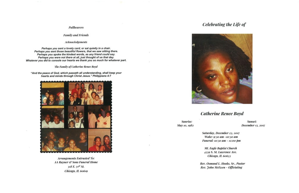Catherine Renee Boyd Obituary