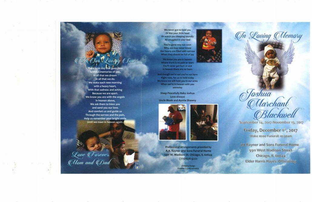 Joshua Marchant Blackwell Obituary
