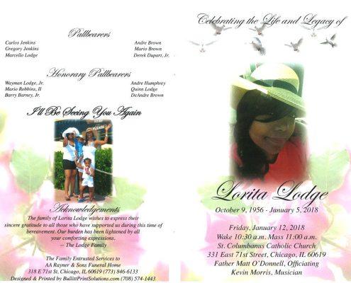 Lorita Lodge Obituary