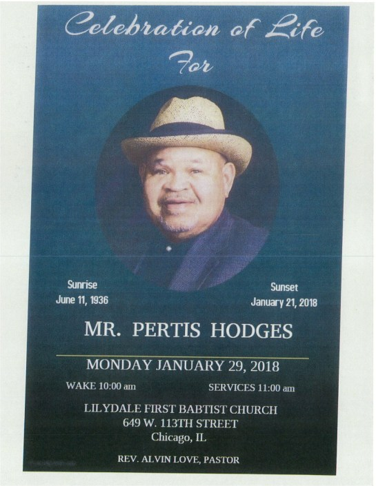 Mr pertis Hodges Obituary