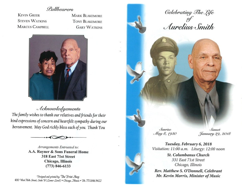 Aurelius Smith Obituary