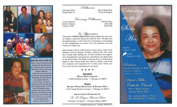 Shirley Holtz Obituary