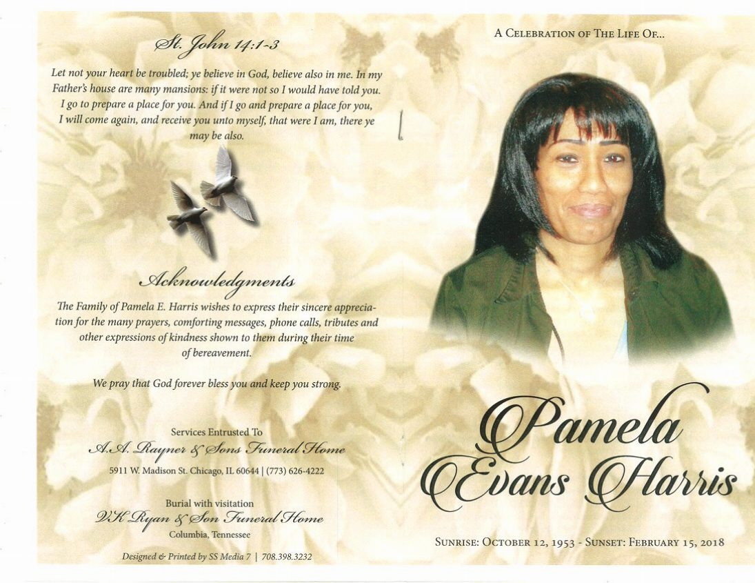 Image result for pamela evans obituary chicago