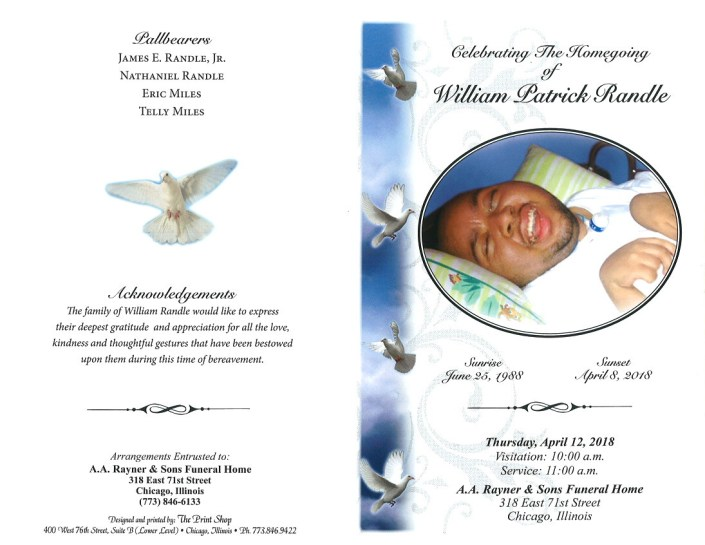 William Patrick Randle Obituary