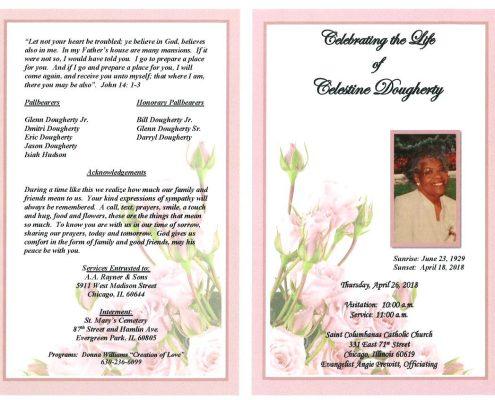 Celestine Dougherty Obituary