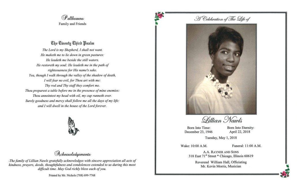 Lillian Nawls Obituary