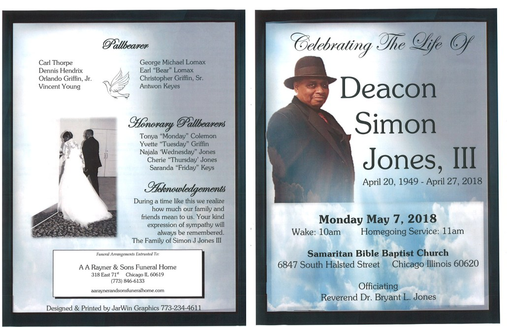 Deacon Simon Jones III obituary