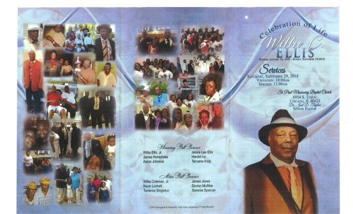 Willie C Ellis Obituary