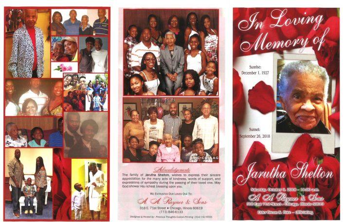 Jarutha Shelton Obituary
