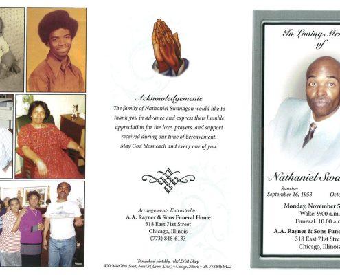 Nathaniel Swanagan Obituary