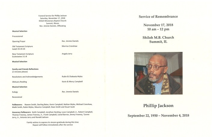 Phillip Jackson Obituary