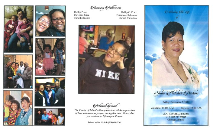 Julia Fletcher Perkins Obituary