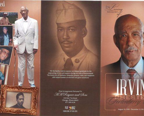 Irvin Chester Fortenberry Sr Obituary