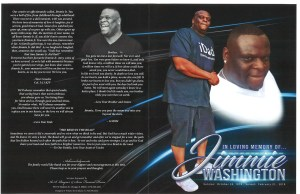 Jimmie Washington Obituary
