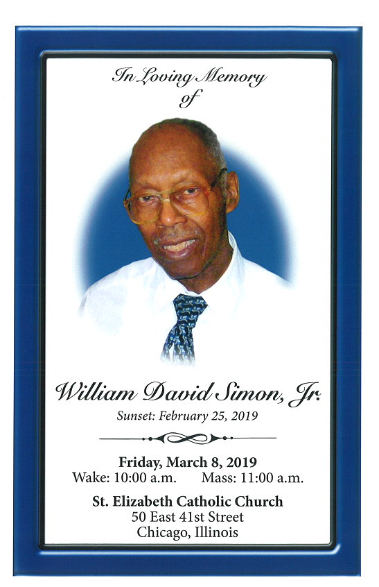 William David Simon Jr Obituary