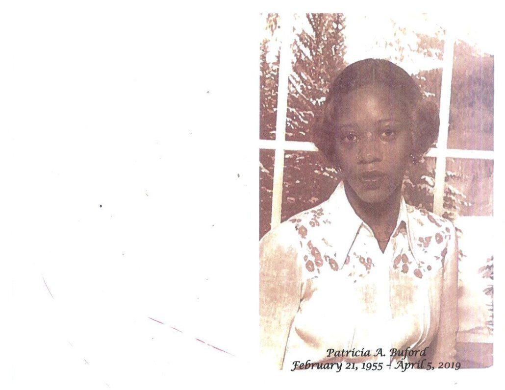 Patricia A Buford Obituary