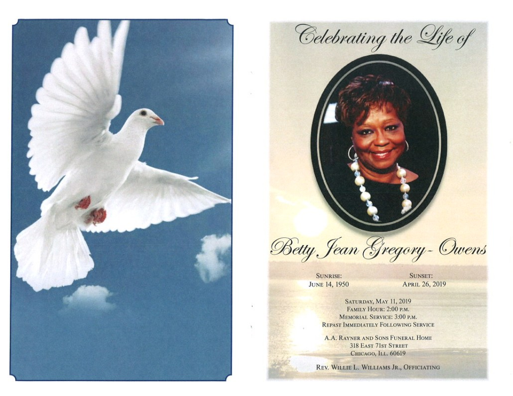Betty Jean Gregory Owens Obituary
