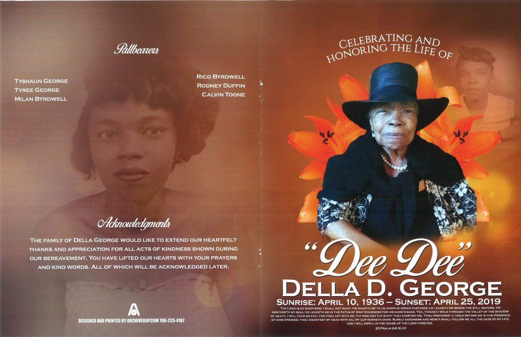 Della D George Obituary