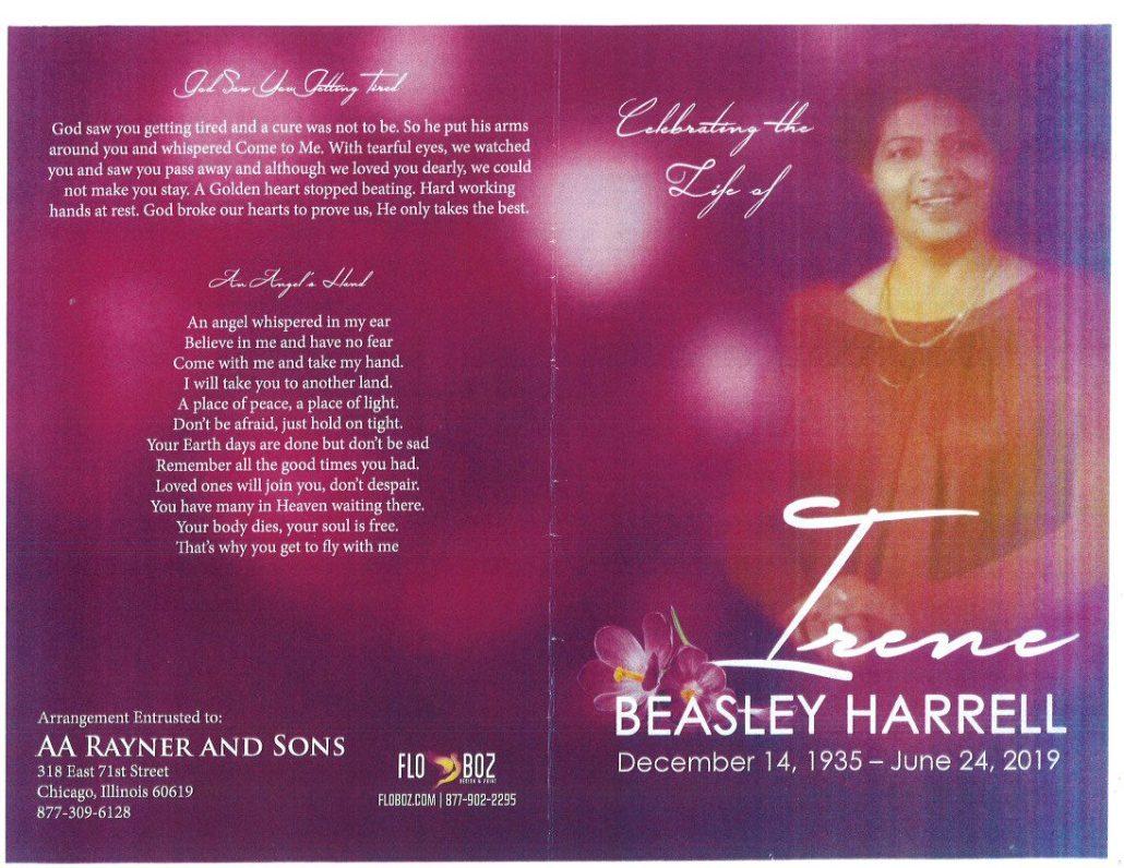 Beasley Harrell Obituary