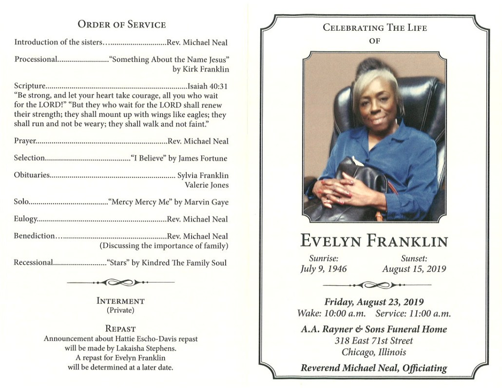 Evelyn Franklin Obituary