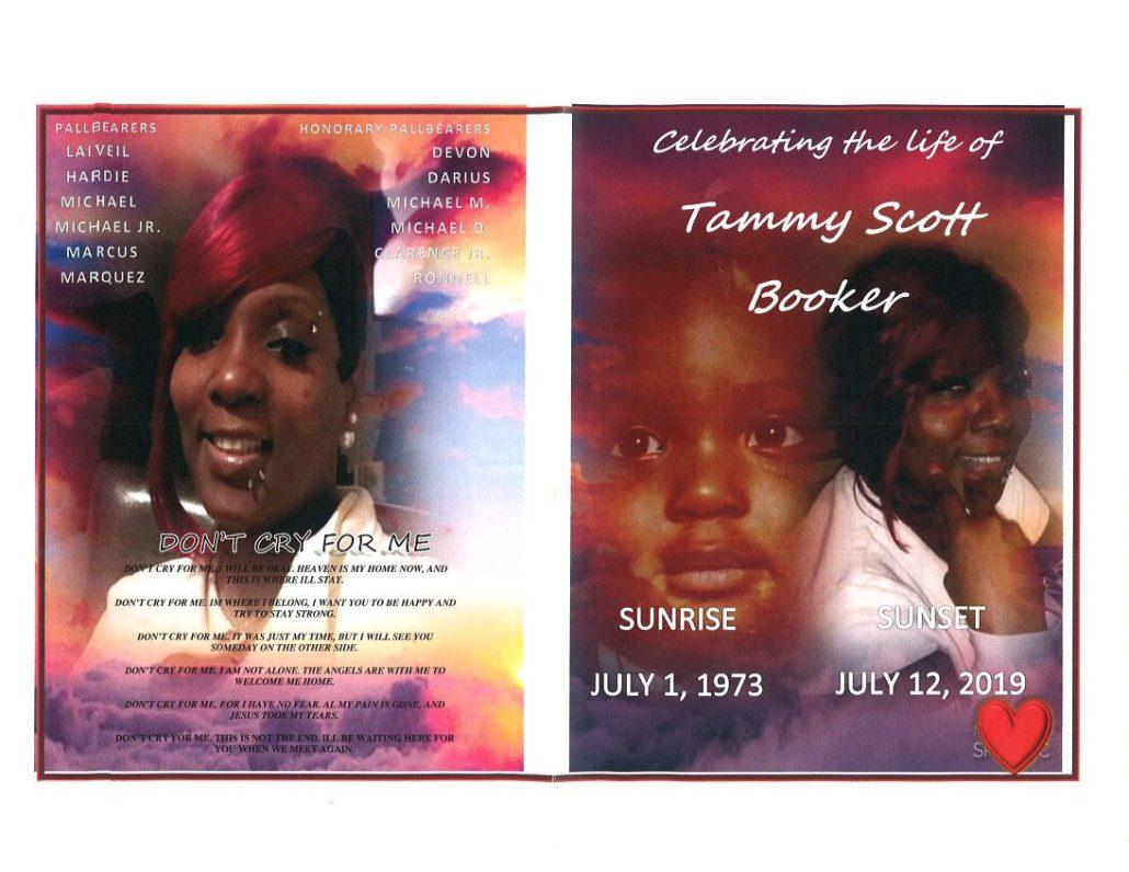 Tammy S Booker Obituary