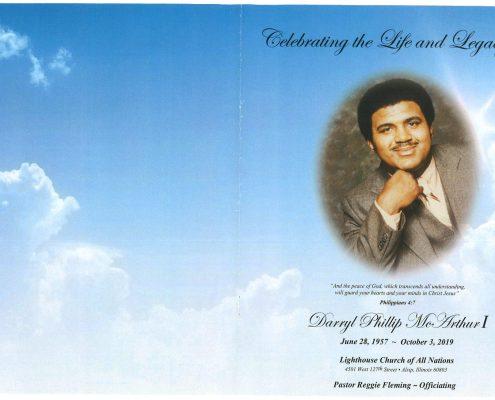 Darryl McArthur Obituary