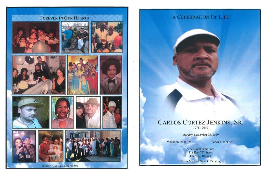 Carlos C Jenkins Sr Obituary