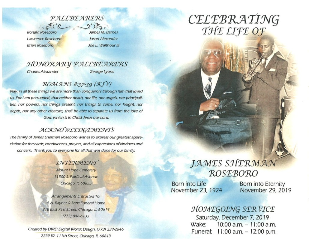 James S Roseboro Obituary