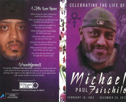 Michael P Fairchild Obituary