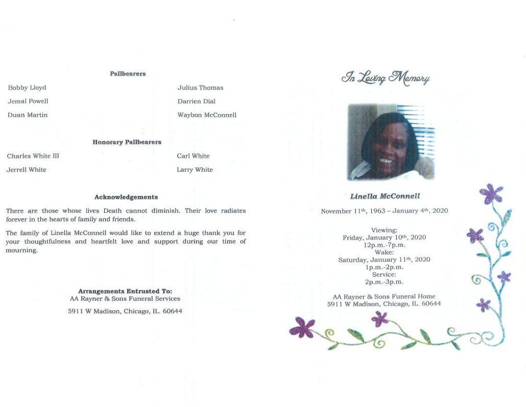 Linella McConnell Obituary