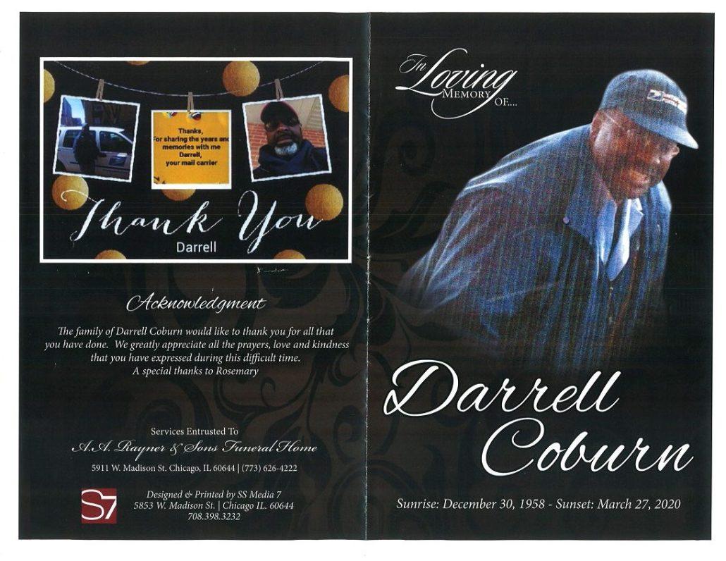 Darrell Coburn Obituary