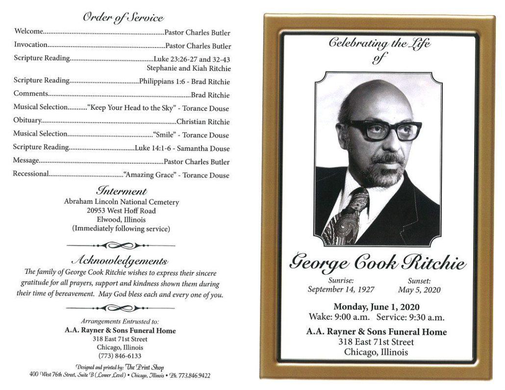George C Ritchie Obituary