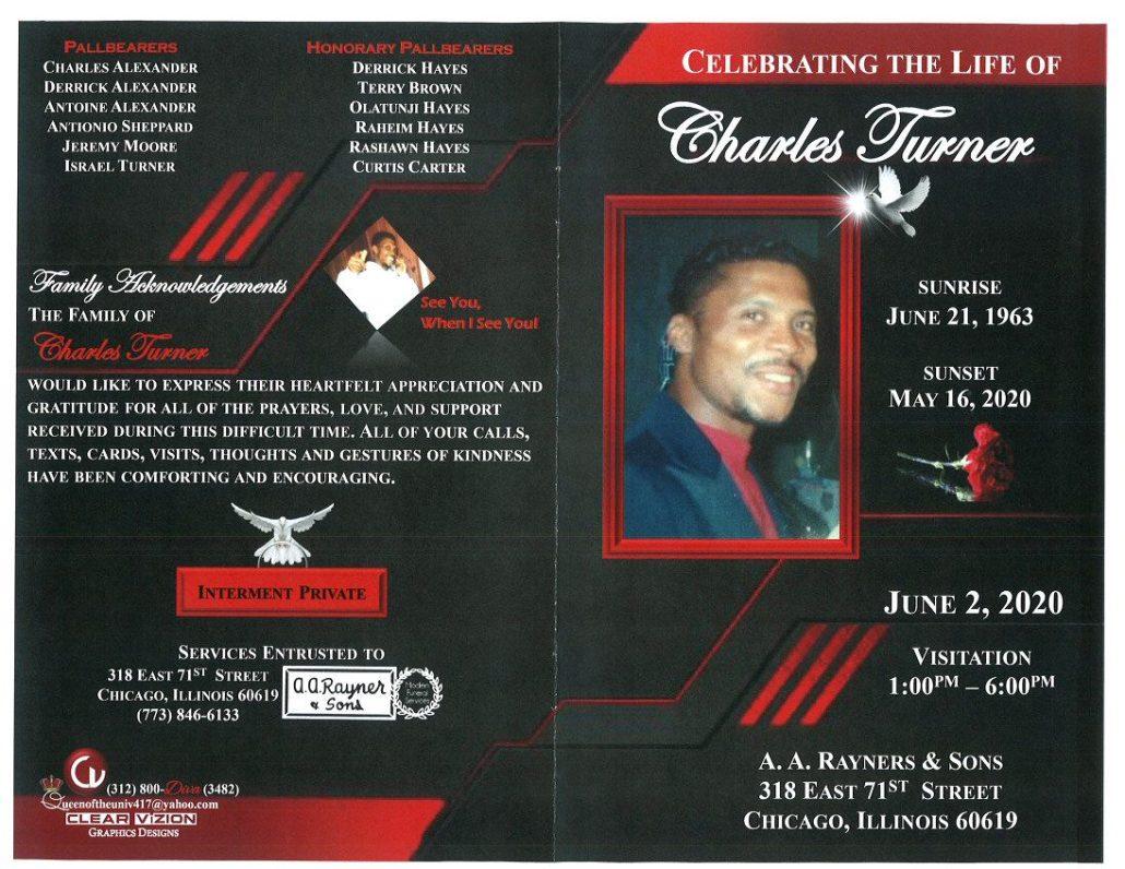 Charles Turner Obituary