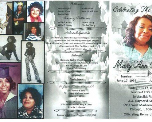 Mary Ann Bracey Obituary