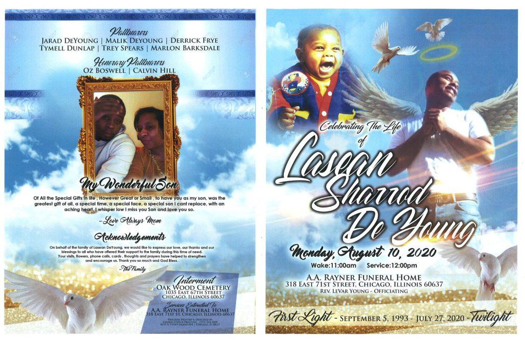 Lasean S DeYoung Obituary