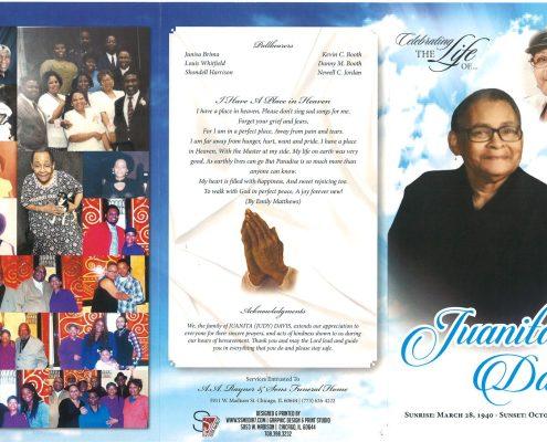 Juanita Davis Obituary