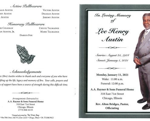 Lee Henry Austin Obituary