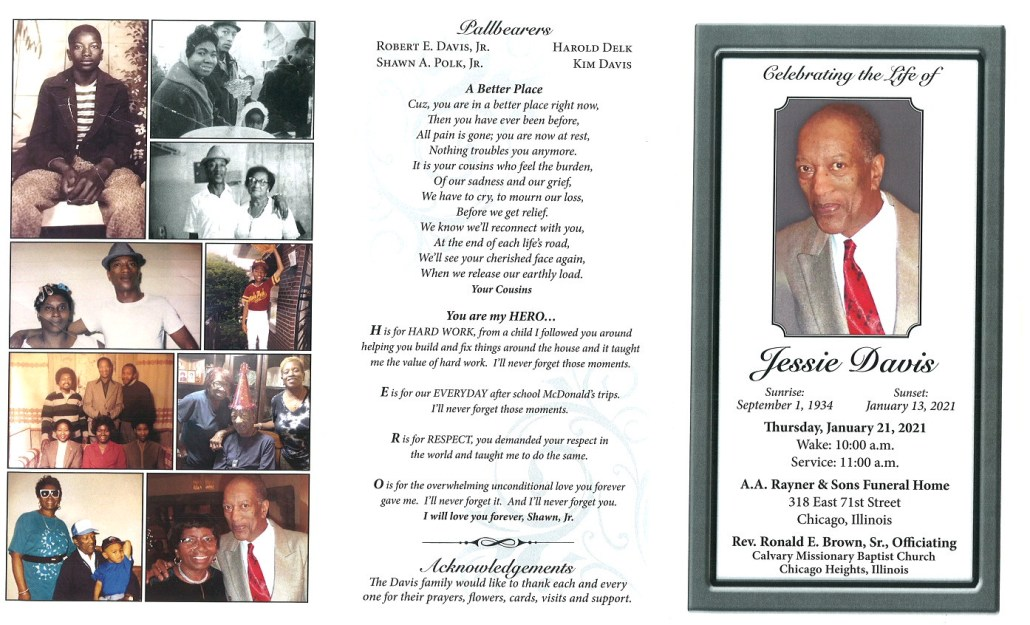 Jessie Davis Obituary