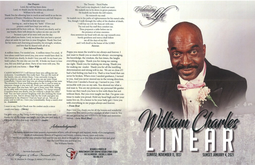 William C Linear Obituary