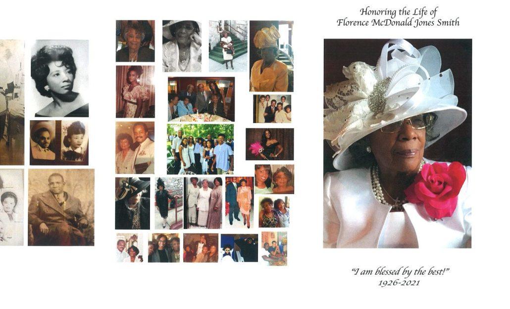 Florence M Jones Smith Obituary