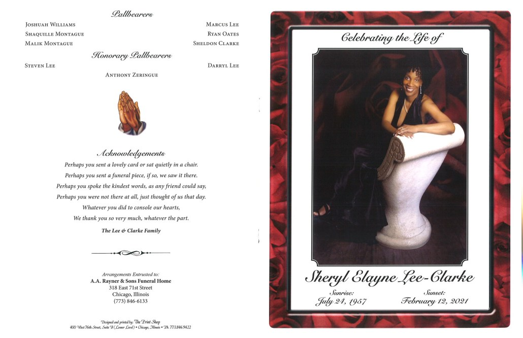 Sheryl E Lee Clarke Obituary